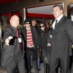 Demi Moore and Ashton Kutcher arrive in Berlin for film festival 32509