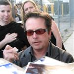 Michael J Fox signing autographs 37946