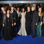 The cast of Avatar at the UK premiere 52075