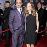 Robert Downey Jr and wife Susan at LA premiere of The Avengers 111113