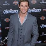 Chris Hemsworth at LA premiere of The Avengers 111114