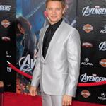 Jeremy Renner at LA premiere of The Avengers 111127