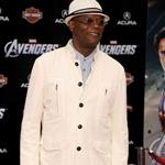 Samuel L. Jackson at LA premiere of The Avengers 111130