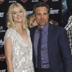 Mark Ruffalo and Sunrise Coigney at LA premiere of The Avengers 111136