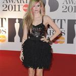 Avril Lavigne at the Brit Awards 2011  79339