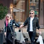 Chad Kroeger and Avril Lavigne hold hands in Paris 126230