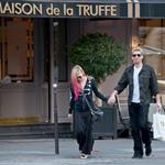 Chad Kroeger and Avril Lavigne hold hands in Paris 126231