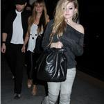 Avril Lavigne and Deryck Whibley leaving Madeo 57273