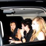 Avril Lavigne and Deryck Whibley outside of Chateau Marmont 57274