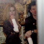 Avril Lavigne and Deryck Whibley leave tattoo parlour with bandages on the same arm 57279