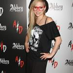 Avril Lavigne visits Abbey Dawn booth at the 2012 MAGIC Convention in Las Vegas 124012