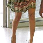 Beyonce at the Nice airport in massive heels 88594