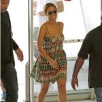 Beyonce at the Nice airport in massive heels 88595