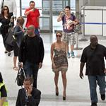 Beyonce at the Nice airport in massive heels 88598