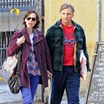 Viggo Mortensen in Spain with Ariadna Gil 72363