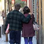 Viggo Mortensen in Spain with Ariadna Gil 72366