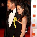 Brad Pitt and Angelina Jolie at BAFTA 2009 32307