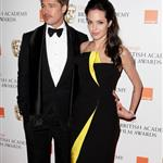 Brad Pitt and Angelina Jolie at BAFTA 2009 32308