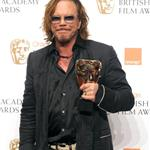 Mickey Rourke wins at BAFTA 32171