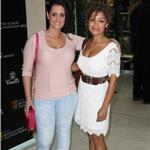 Lauren Socha and Antonia Thomas at the BAFTAs nominees' lunch  85999