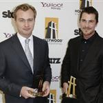 Christian Bale and Christopher Nolan at Hollywood Film Festival  26636