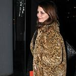 Mischa Barton in New York today returning to her hotel 53383