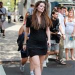 Mischa Barton shooting The Beautiful Life in New York 44661