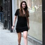 Mischa Barton shooting The Beautiful Life in New York 44658