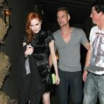 Evan Rachel Wood and Shane West leaving his birthday party 40634