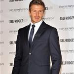 David Beckham at Selfridges in London to unveil new Armani ad 40890