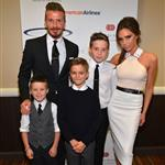 The Beckhams at the 27th Anniversary Sports Spectacular 115097