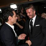 David Beckham and Marc Anthony at the 27th Anniversary Sports Spectacular 115100
