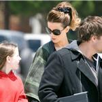 Kate Beckinsale and Len Wiseman in LA with daughter Lily after ice skating  66291
