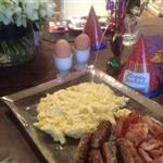 David Beckham's birthday breakfast  113223
