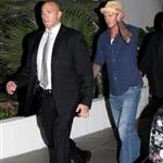 David Beckham in Vegas for Ricky Hatton fight 27933