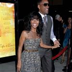 Will Smith and Jada Pinkett Smith support Queen Latifah at premiere of Secret Life of Bees in LA 25798