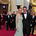 Berenice Bejo and Michel Hazanavicius at the 84th Annual Academy Awards 107204