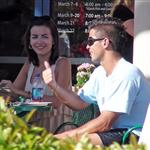 Camilla Belle gets affectionate with Fernando Verdasco at Indian Wells 35526