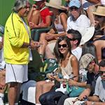 Camilla Belle gets affectionate with Fernando Verdasco at Indian Wells 35521