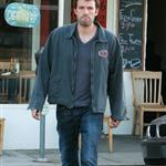 Ben Affleck and Jennifer Garner with Violet at the diner 21543