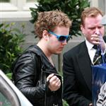 Elvis Presley grandson Benjamin Keogh leaves the Ritz in London 88705