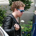 Elvis Presley grandson Benjamin Keogh leaves the Ritz in London 88707