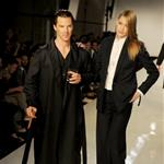 Benedict Cumberbatch walks the runway at the Spencer Hart Spring/Summer 2013 catwalk show during London Collections: Men at the Old Selfridges Hotel 118085