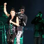 Fergie and BEP in Vancouver last night opening for U2 49641