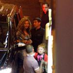 Beyonce and Jay-Z go to dinner in France 125270