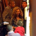 Beyonce and Jay-Z go to dinner in France 125273