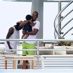 Jay-Z spends time with Blue Ivy on vacation in France 125287