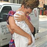 Beyonce out with Blue Ivy in Manhattan 121012