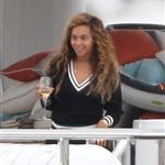 Beyonce spends 31st birthday with Jay-Z & Blue Ivy on a yacht in the South of France  124986