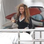 Beyonce spends 31st birthday with Jay-Z & Blue Ivy on a yacht in the South of France nds 31st birthday with Jay-Z & Blue Ivy on a yacht in the South of France  124987